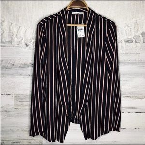 🌷New Lush navy stripes lightweight jacket XL🌷
